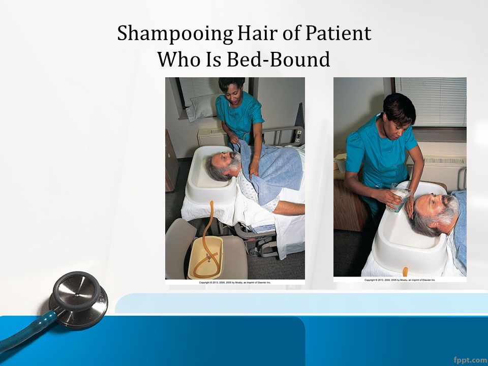 washing a bed bound patient essay Obbomed® hb-3000 foldable inflatable portable bed shampoo hair washing basin this ez access inflatable shampoo basin for the well for the bed bound patient.