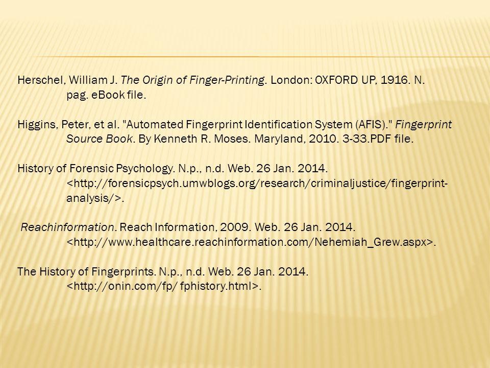 The Evolution of Fingerprinting - ppt video online download