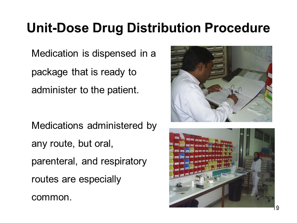 Drug Distribution System Dispensing To In Patients Ppt