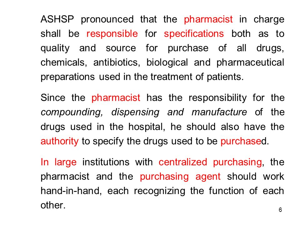 DRUG DISTRIBUTION SYSTEM Dispensing to InPatients ppt download – Responsibility of a Pharmacist