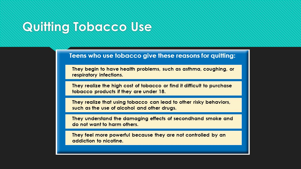 use of tobacco products and how they Smoking is highly addictive nicotine is the drug primarily responsible for a person's addiction to tobacco products, including cigarettes the addiction to cigarettes and other tobacco products that nicotine causes is similar to the addiction produced by using drugs such as heroin and cocaine ()nicotine is present naturally in the tobacco plant.