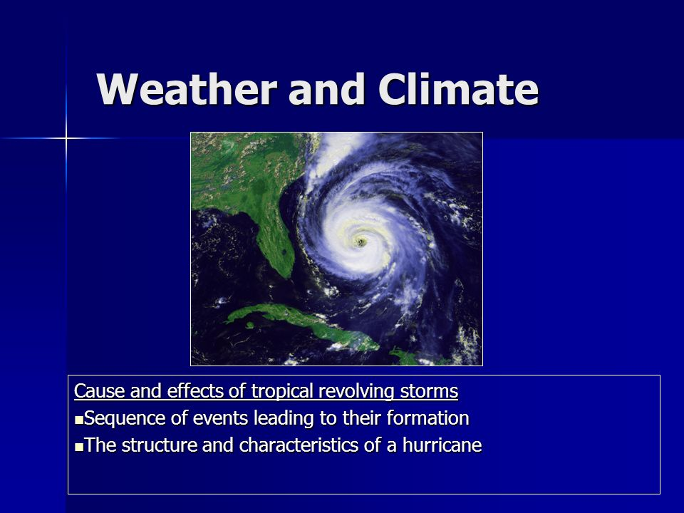 extreme weather events climate change