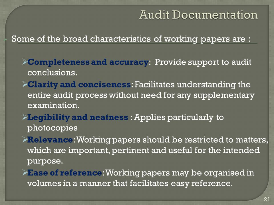 the audit process essay