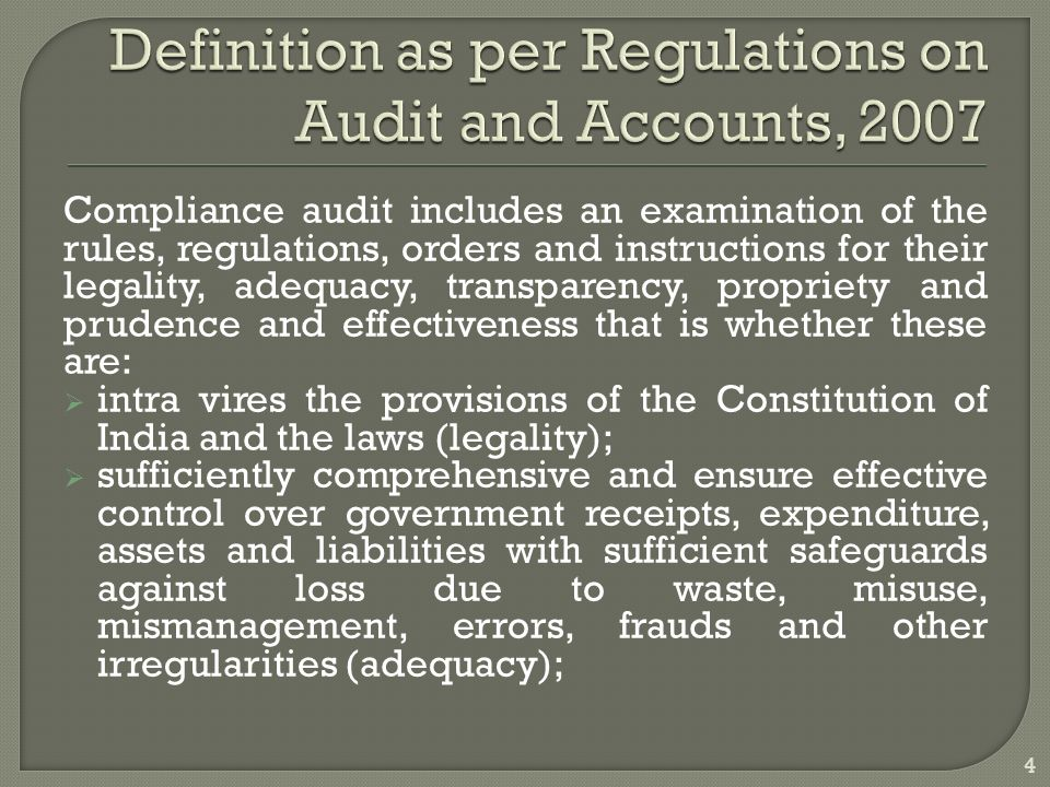 auditing self regulation and government regulation From self-regulation to government regulation june 2014 independent audit committees, and about relationships or transactions with directors, officers, and substantial citing a 2002 gao government accountability office report.