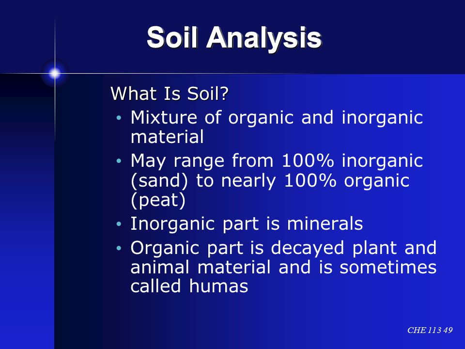 Physical evidence glass and soil analysis ppt video for What is soil a mixture of