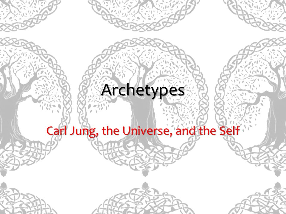 Carl Jung, the Universe, and the Self
