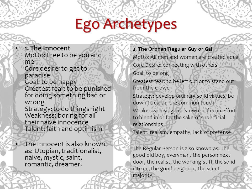 Ego Archetypes