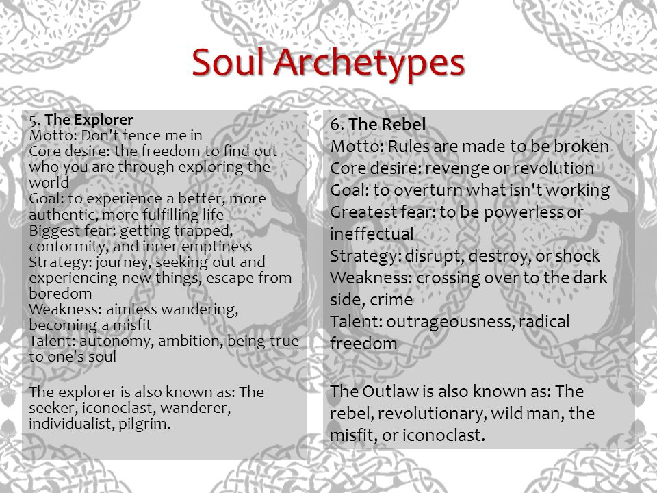 Soul Archetypes