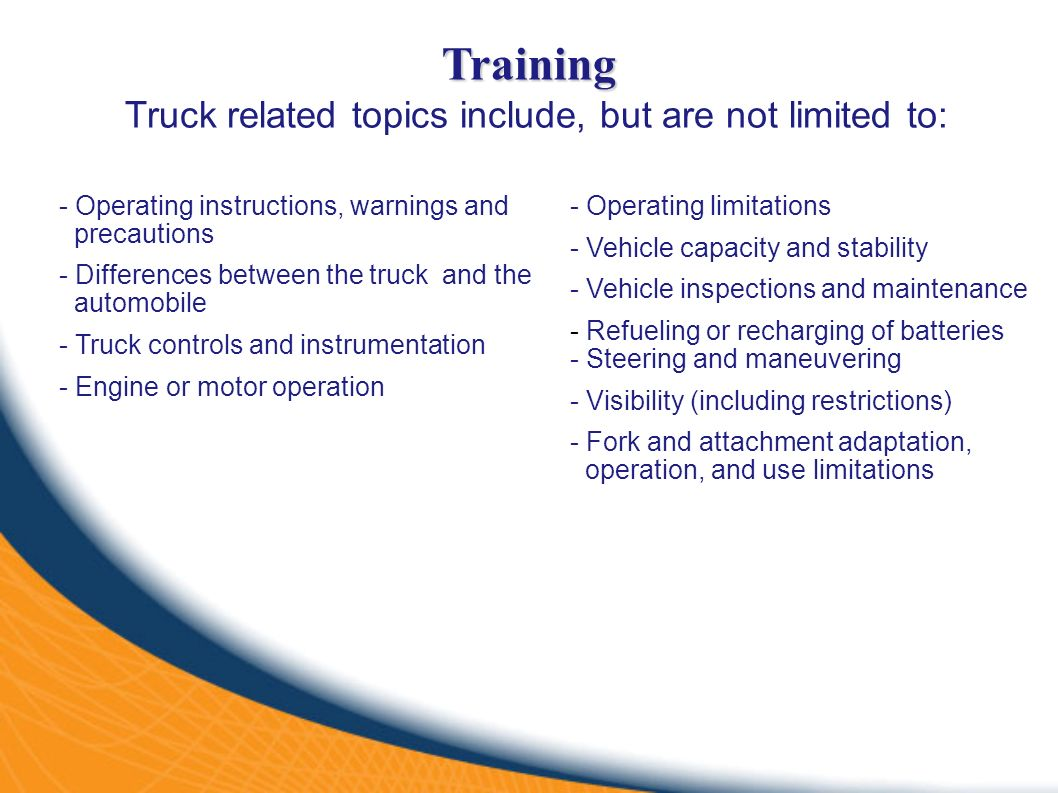 Forklift operator safety ppt video online download 5 truck xflitez Choice Image