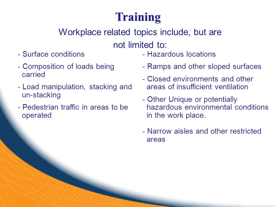 Forklift operator safety ppt video online download 6 workplace xflitez Choice Image