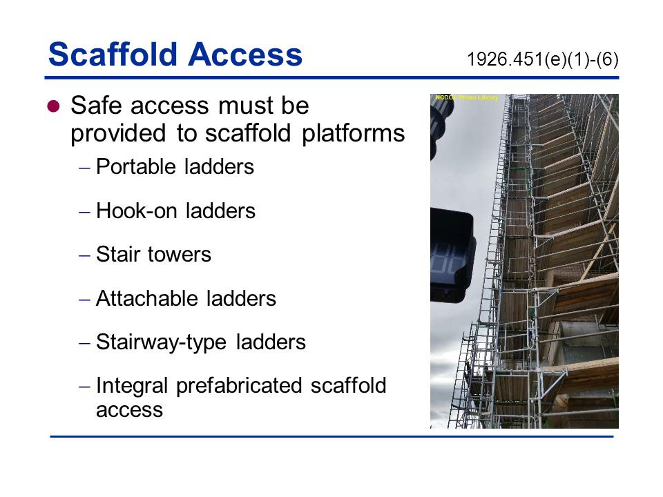 Scaffolds 29 Cfr Subpart L Ppt Video Online Download