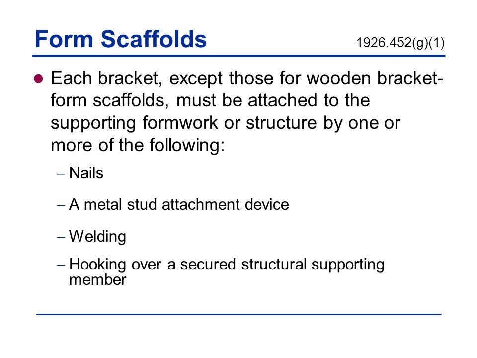 Scaffolds 29 CFR Subpart L - ppt video online download