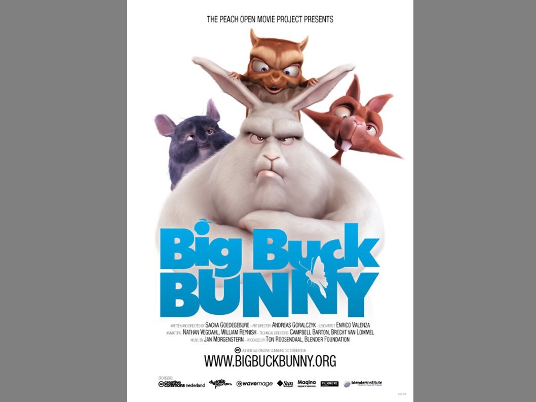 Following the success of Project Orange the Blender Foundation began Project Peach in October of 2007 to create a funny and furry movie.