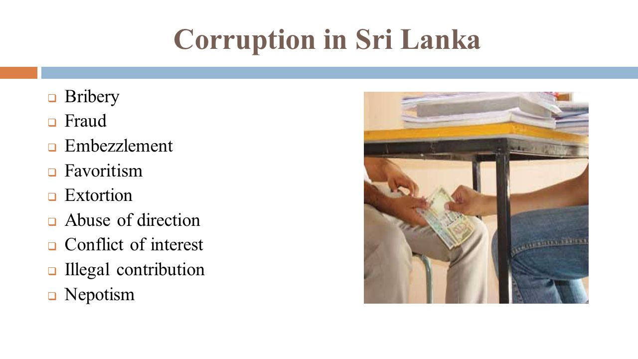 corruption in sri lanka Icc investigating cricket corruption scandal in sri lanka reuters may 26, 2018  12:26 ist updated: may 26, 2018 12:28 ist share article print a a a.