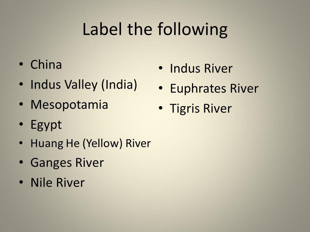 River Valley Civilizations - ppt video online download