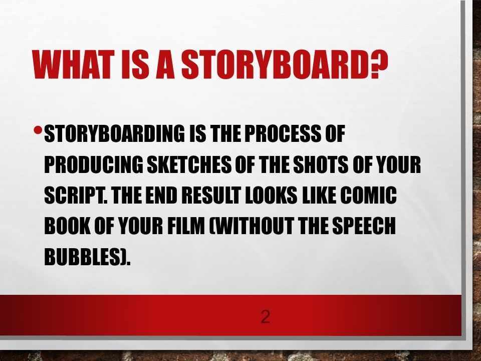 Storyboards Trade  Industrial Education  Ppt Download