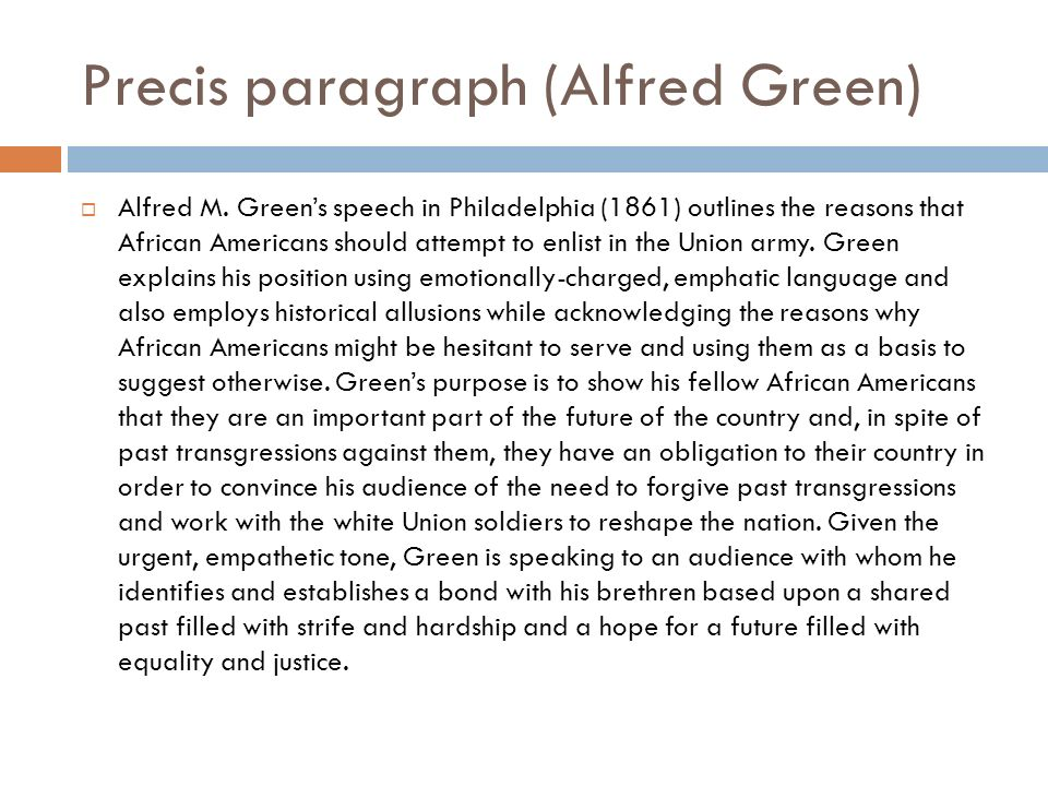 alfred m green speech analysis Alfred m green speech rhetorical analysis the daunt feeling of oppression and inequality engulfed the brains of the many african americans who came to be persuaded to become part of the tyrant-free union side by alfred m green.