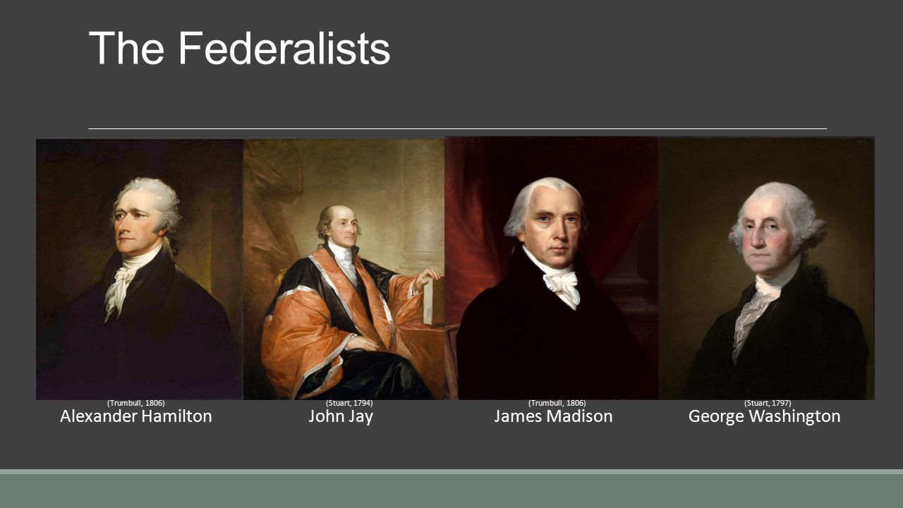 Who Wrote the Federalist Papers?