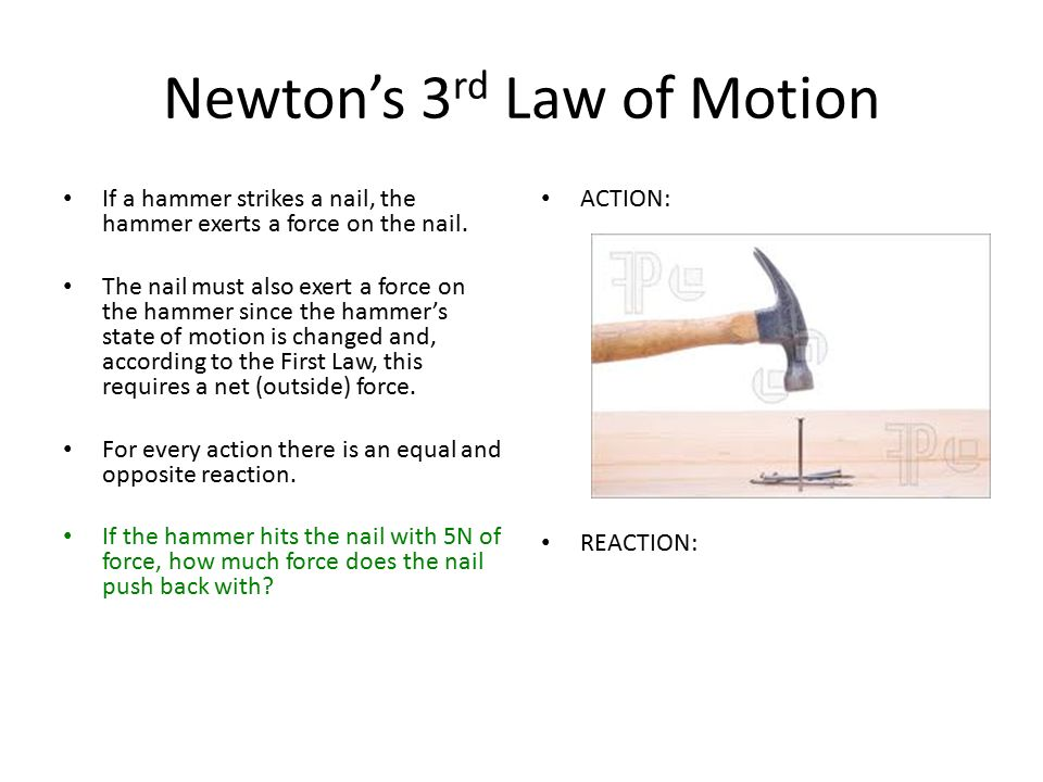 volleyball newton s laws of motion and Issac newton established 3 basic ideas that are applied to the physics of most motion over the years, these ideas have been tested and verified countless times, thus scientists call them newtons three laws of motion.