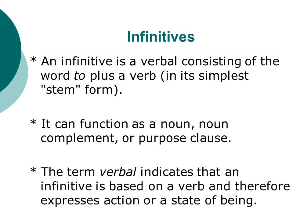 Gerunds and Infinitives - ppt video online download