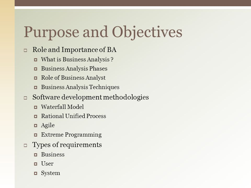 business analysis techniques pdf download