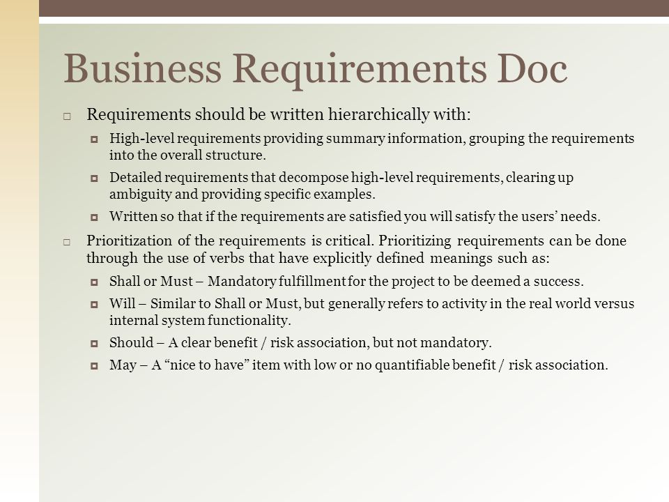 Business requirements document sample blackdgfitness business requirements document sample flashek Gallery