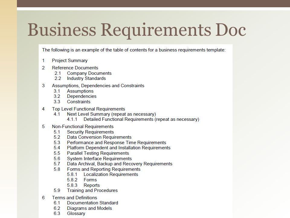 Business requirement documents business system analyst iii banking requirements document prd sample business analysis inc ppt download wajeb Image collections