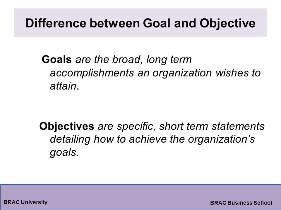 identify difference between short term and long term goals Long-term strategic  internal processes 1-year goals: reduce the time lapse between order data  (short-term) goals in other words, identify all the actions.