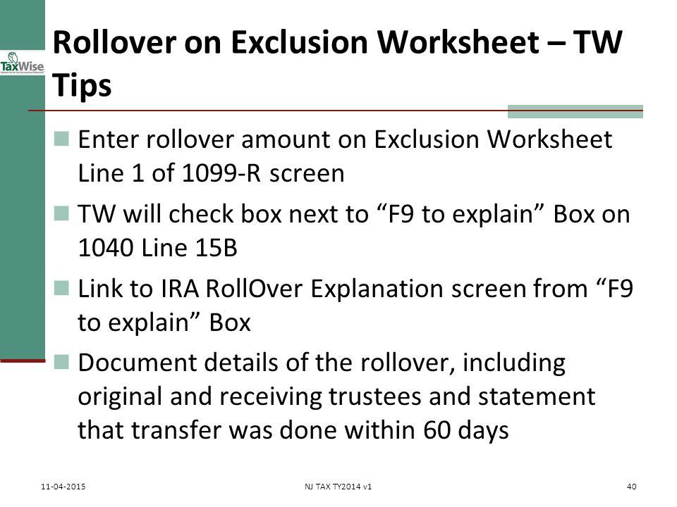 Pub 17 Chapter 10 11 Pub 4012 Tab D 1040Line 16 ppt download – 1099 Worksheet