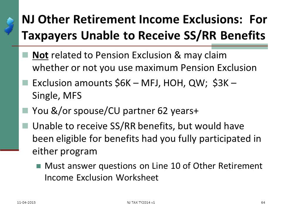 1040 ss benefits worksheet
