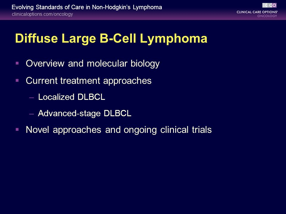 Provide diffuse b cell lymphoma stage 4