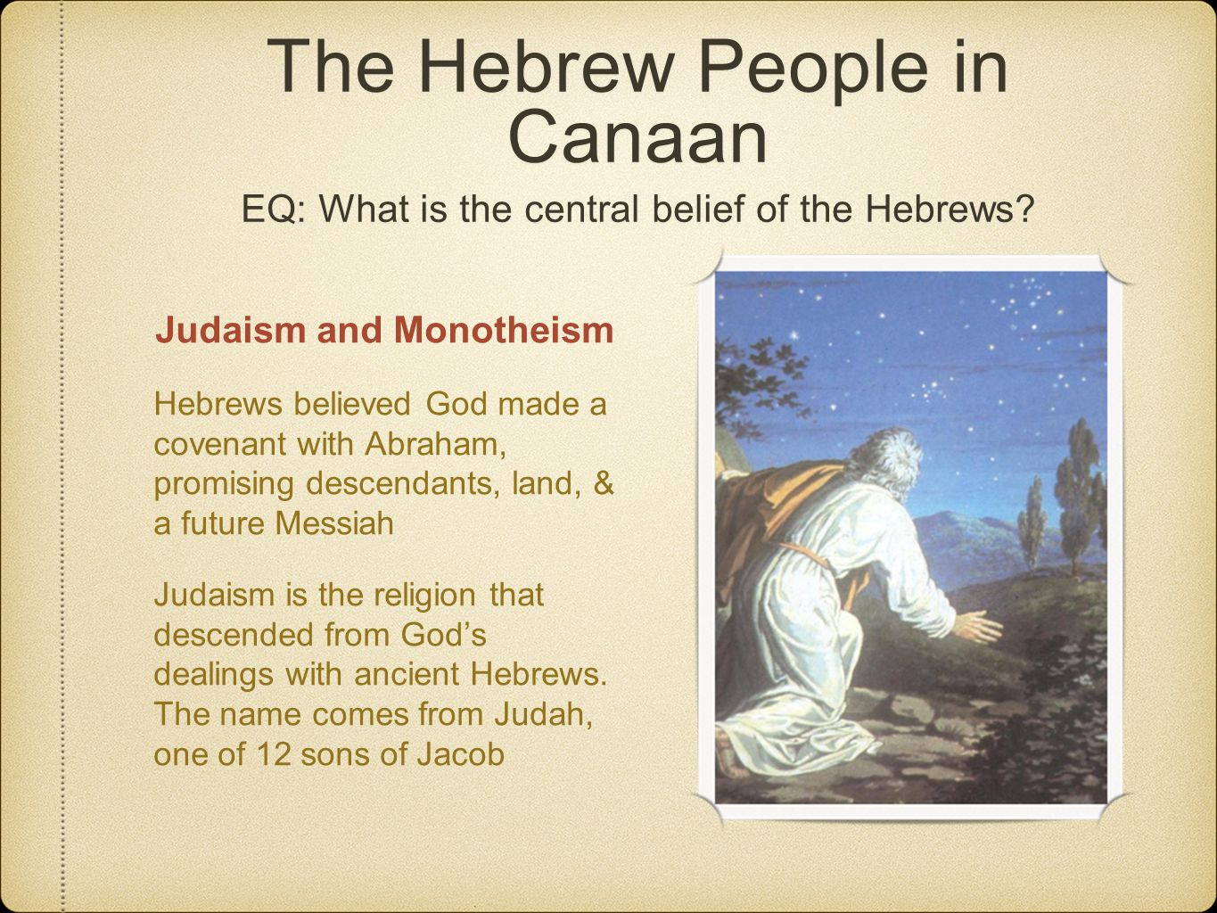 judaism and the hebrew people Hebrew: hebrew, any member of an ancient northern semitic people that were the ancestors of the jews biblical scholars use the term hebrews to designate the.