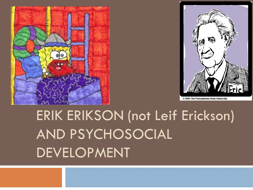 essay on psychosocial development Movie analysis essay - free download as word doc (doc / docx), pdf file (pdf),  text file (txt)  be applied to erikson's stages of psychosocial development.