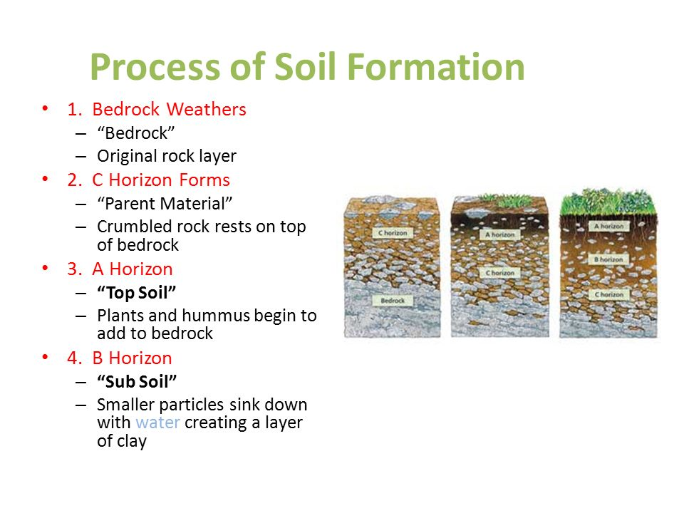 What you think of when you hear natural resources ppt for Soil formation