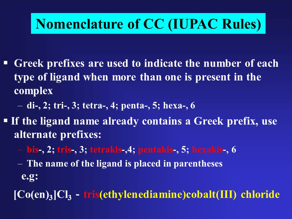 compare the iupac nomenclature rules for Then we will learn the rules of nomenclature that ensure that a compound is named according to iupac rules we will end this unit by looking at quantitative relationships for compounds including the molar mass of and mass percent of an element in a compound  compare experimental procedures,.