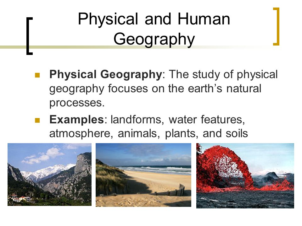 Human geography research proposal example