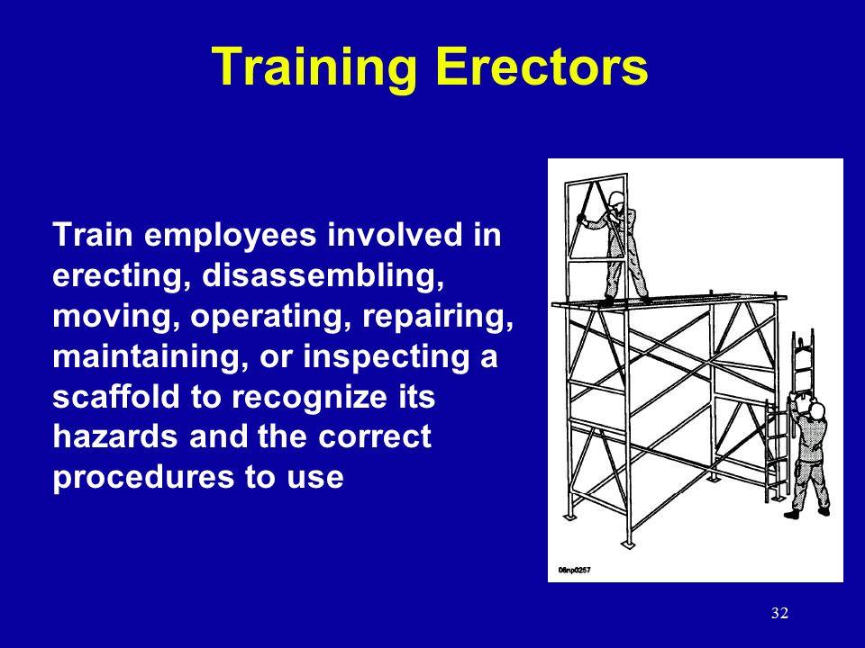 Scaffolding Erecting Procedure : Scaffolds subpart l scaffolding ppt video online