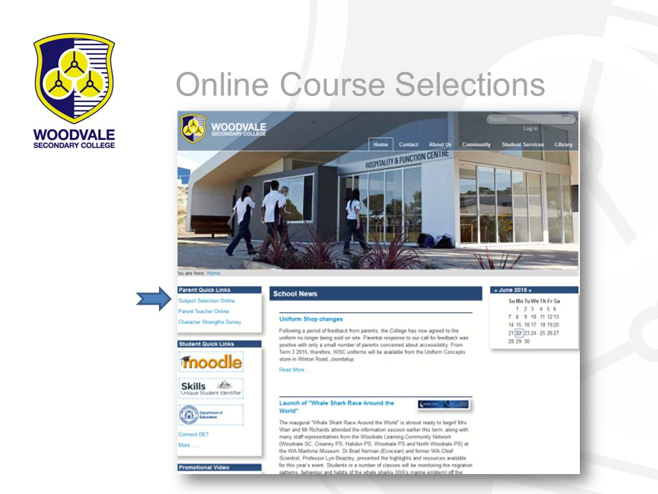 Online Course Selections