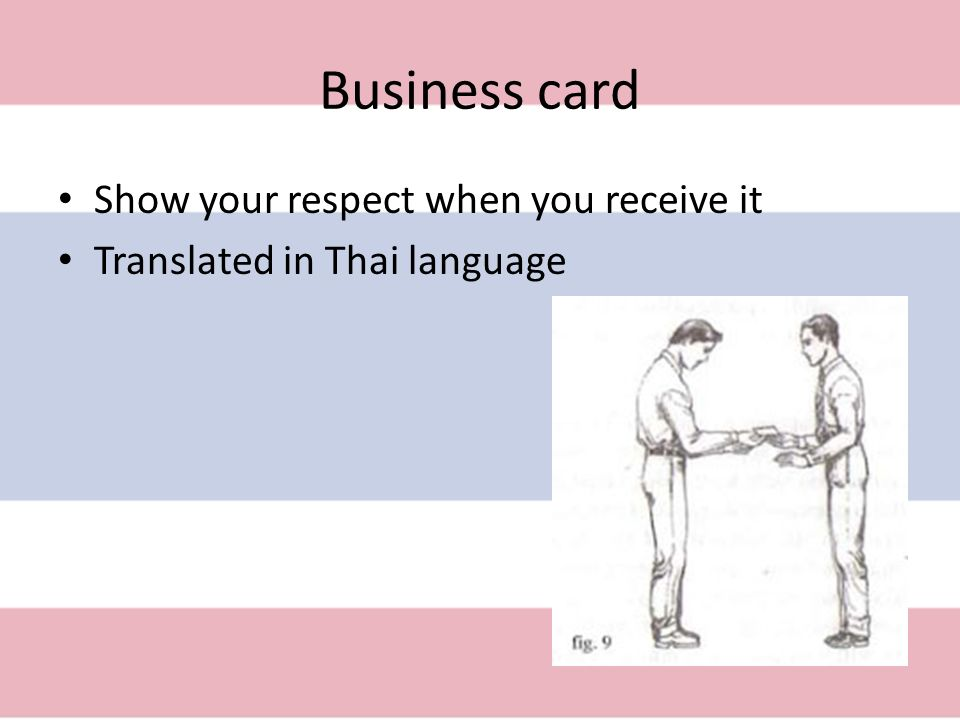 Business etiquette and protocol ppt download 5 business card colourmoves