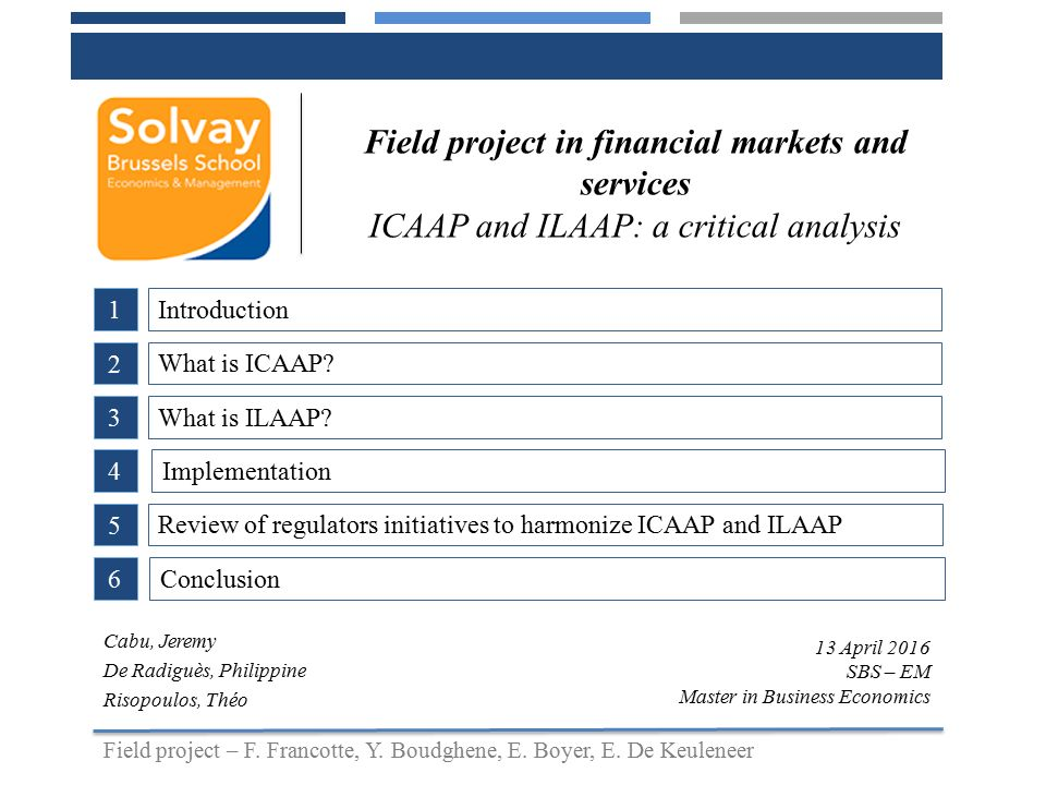 Field project in financial markets and services - ppt video online ...