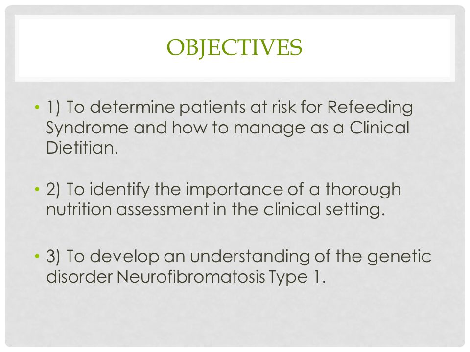 refeeding syndrome: nutrition management in the clinical ...  refeeding syndrome risk factors diagram