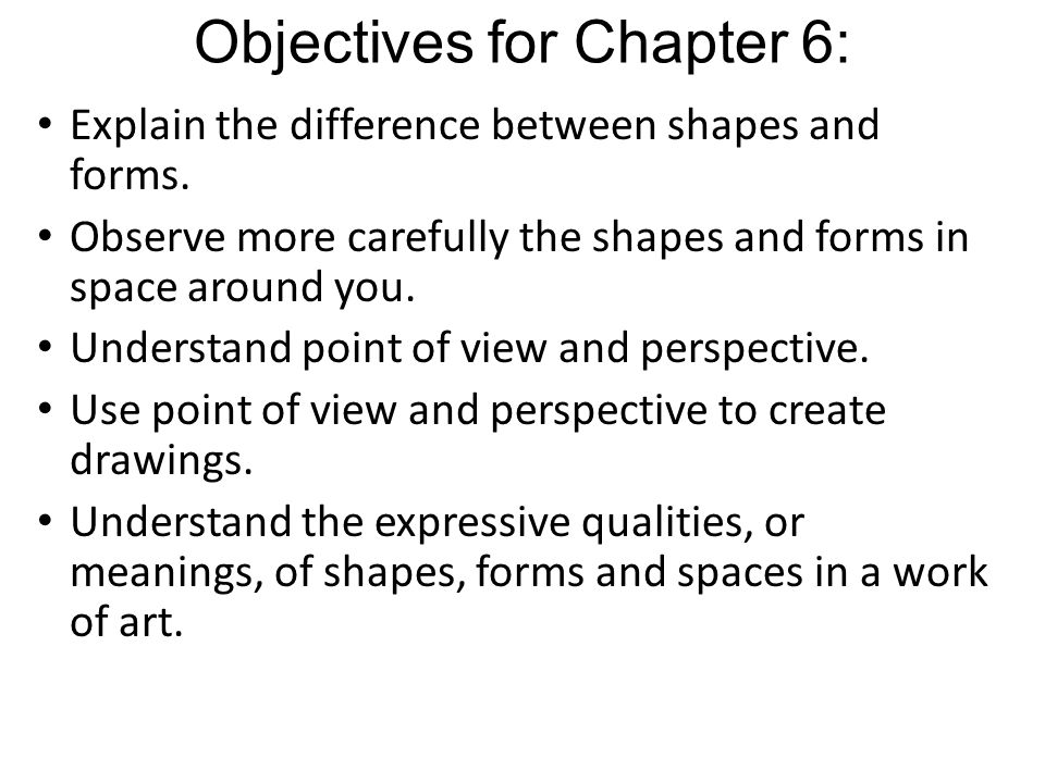 ARTTALK Chapter 6 Shape, Form, and Space - ppt video online download