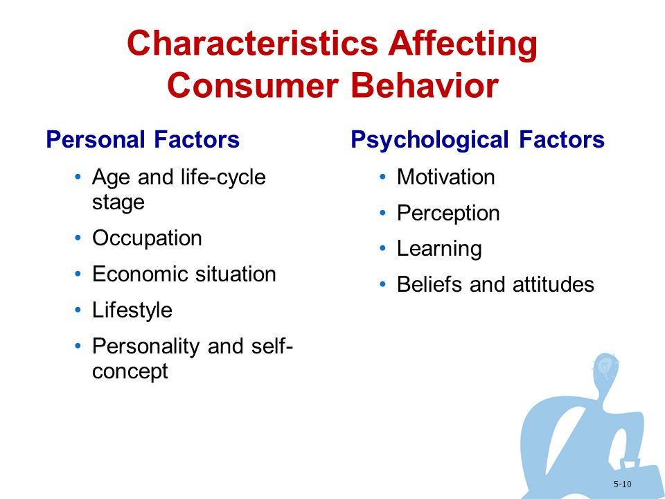 Motivation personality perception attitude Homework Example - August