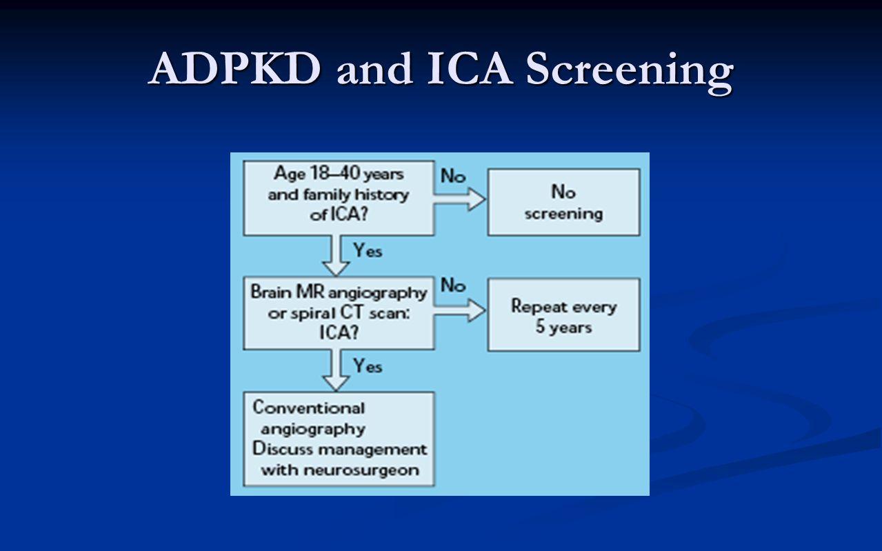ADPKD and ICA Screening