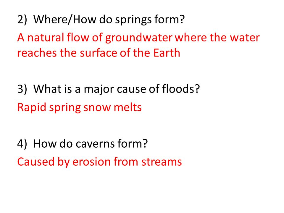 Unit 3 - Hydrosphere Study Guide Answer Key. - ppt video online ...