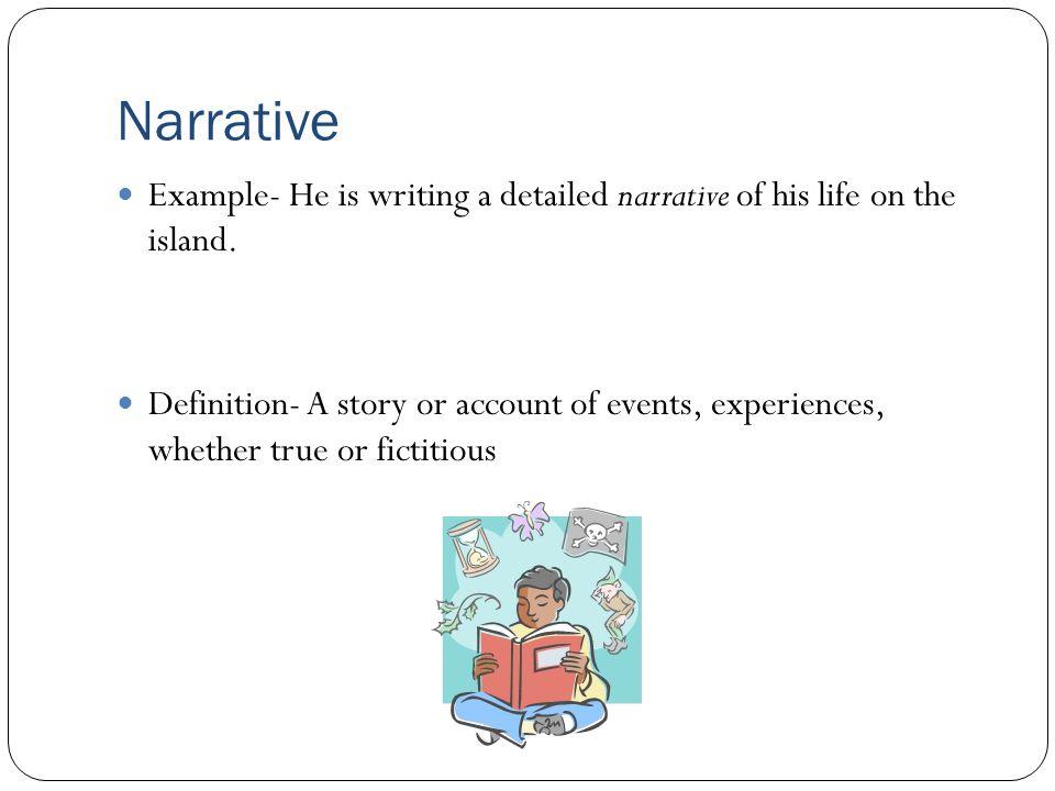 22 Narrative ...
