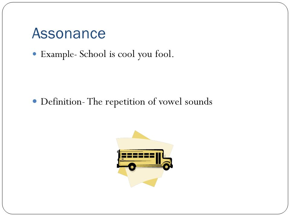 Assonance Definition | www.pixshark.com - Images Galleries ...