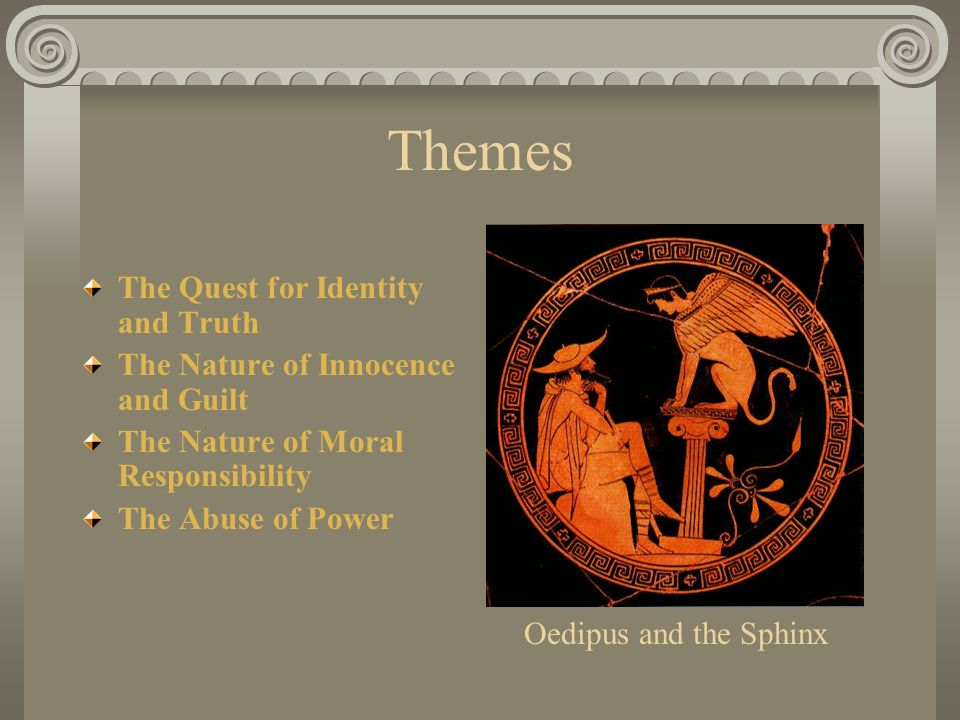 man vs god in sopochles oedipus the king Oedipus the king (lines 1-119) sophocles oedipus the king (lines 1-119) lyrics  if men to man and guards to guard them tail oedipus  let me report then all the god declared king phoebus.