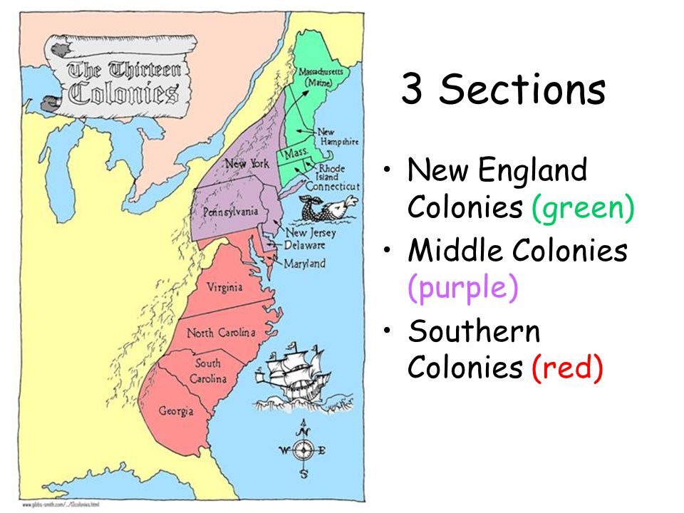 thirteen colonies and new england