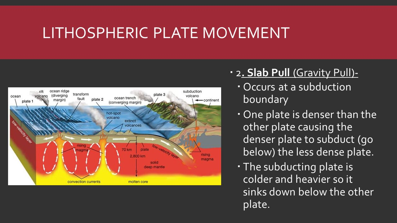Plate tectonics earthquakes volcanoes ppt download 7 lithospheric plate movement robcynllc Choice Image